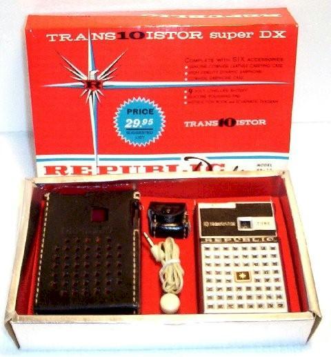 Republic RP-10 Transistor