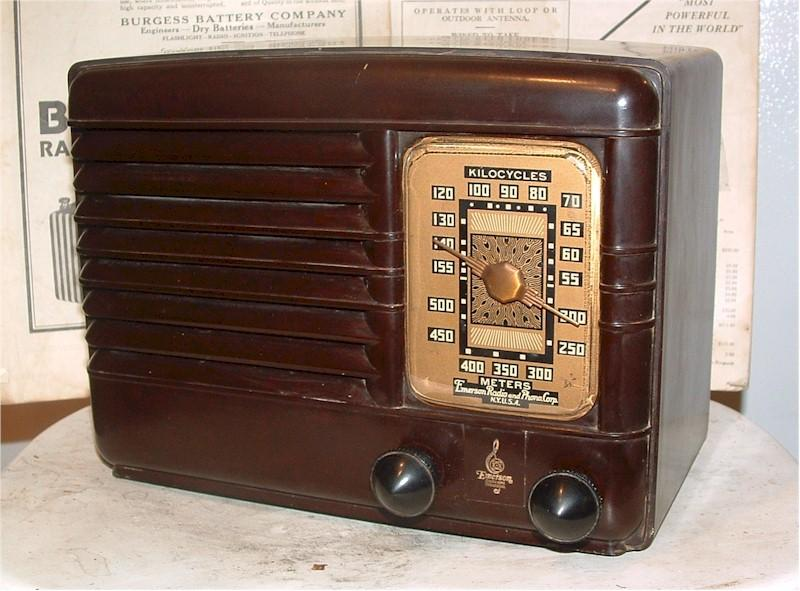Emerson Radio (model unknown)