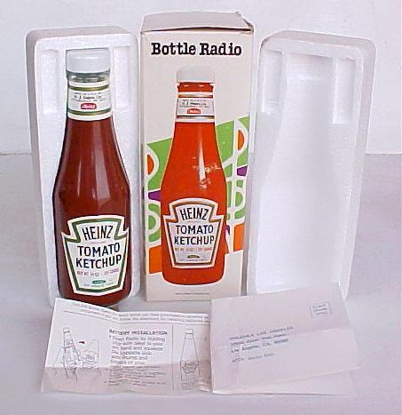 Heinz Bottle Radio