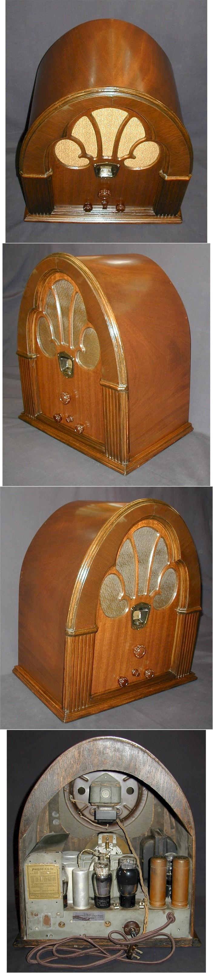 "Philco 70 ""Baby Grand"" Cathedral (1931)"