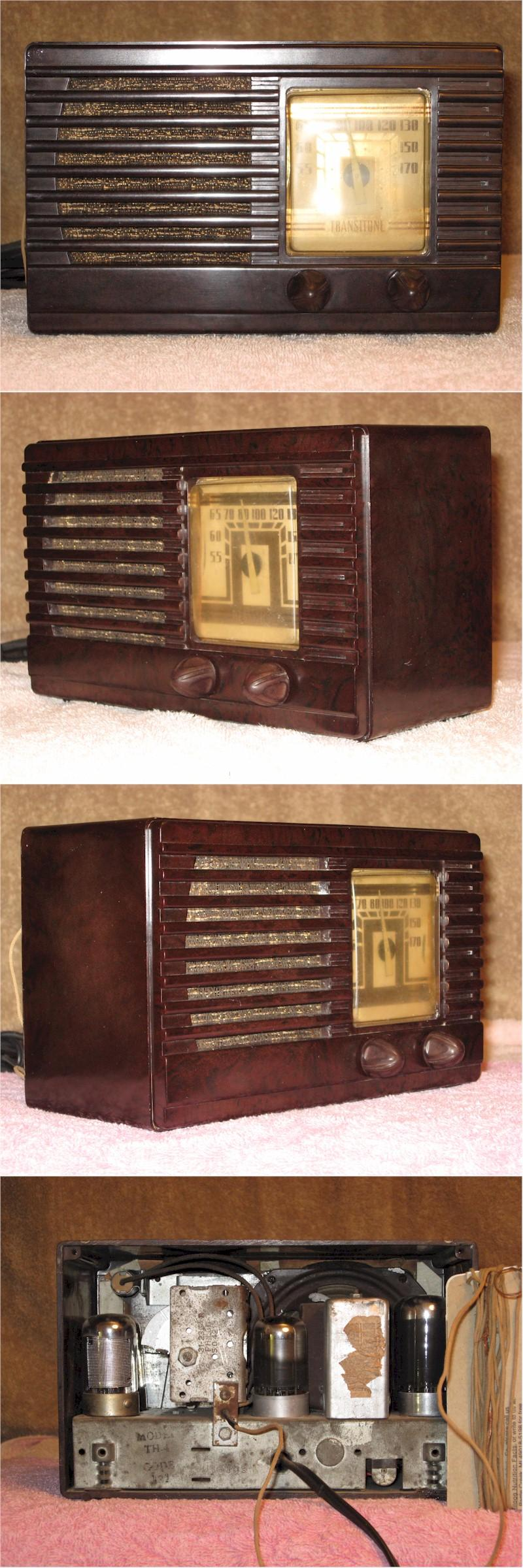Philco TH-4 Transitone (1939)