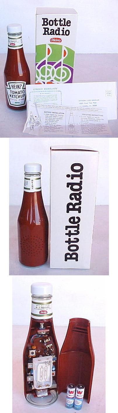 Heinz Bottle Radio (1980)
