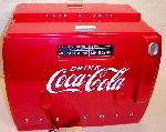 Coca-Cola Cooler AM/FM Radio/Cassette Player