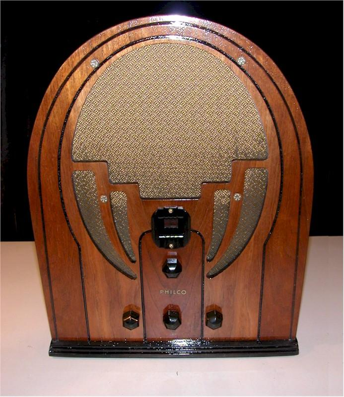 Philco 60B Cathedral (1934)