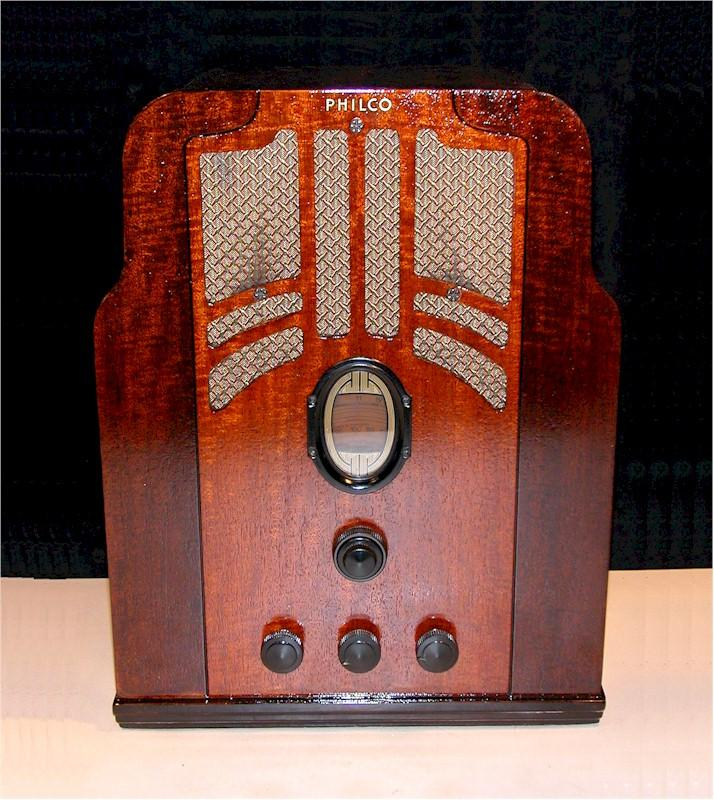 Philco 610 Tombstone (1936)