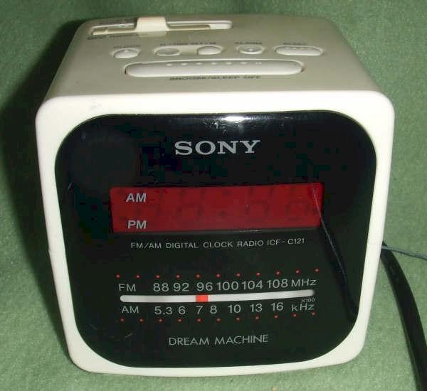 Sony Dream Machine Clock Radio