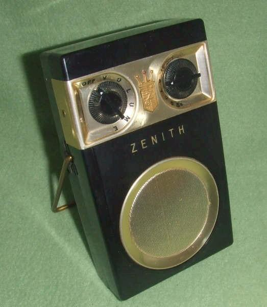 Zenith Royal 500 (Early, Hand-wired) (March 1956)