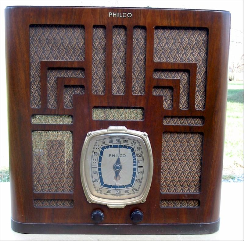 Philco 39-80 Tombstone (1939)