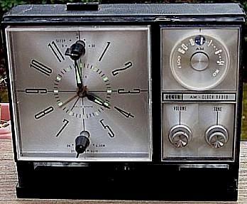 Elgin 1958 Clock Radio (1964)