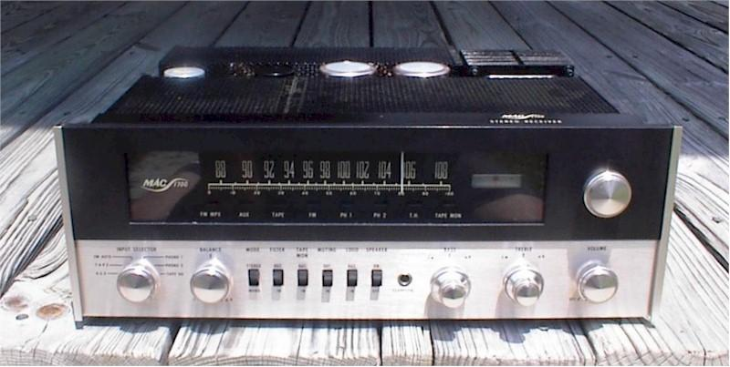 McIntosh 1700 Stereo Amplifier Receiver (1967)