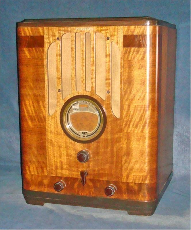 Philco Radio 38-2670 Tombstone (1938)