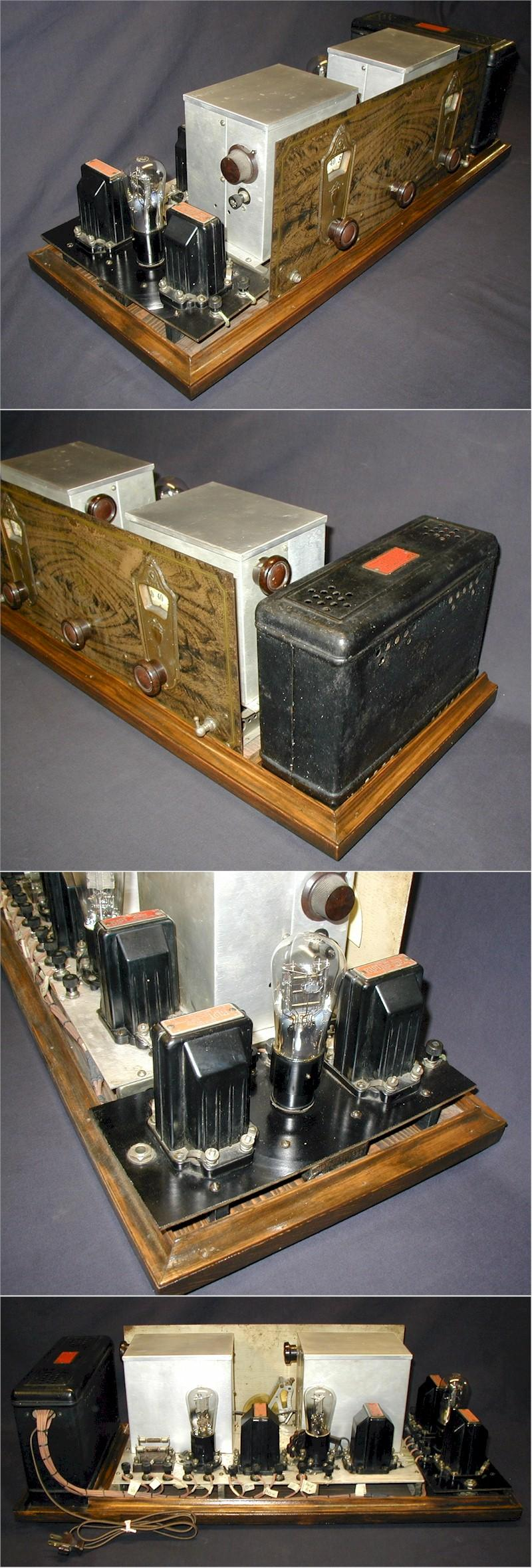 Pilot AC Super-Wasp K-115 with Amplifier & Power Supply (1928)