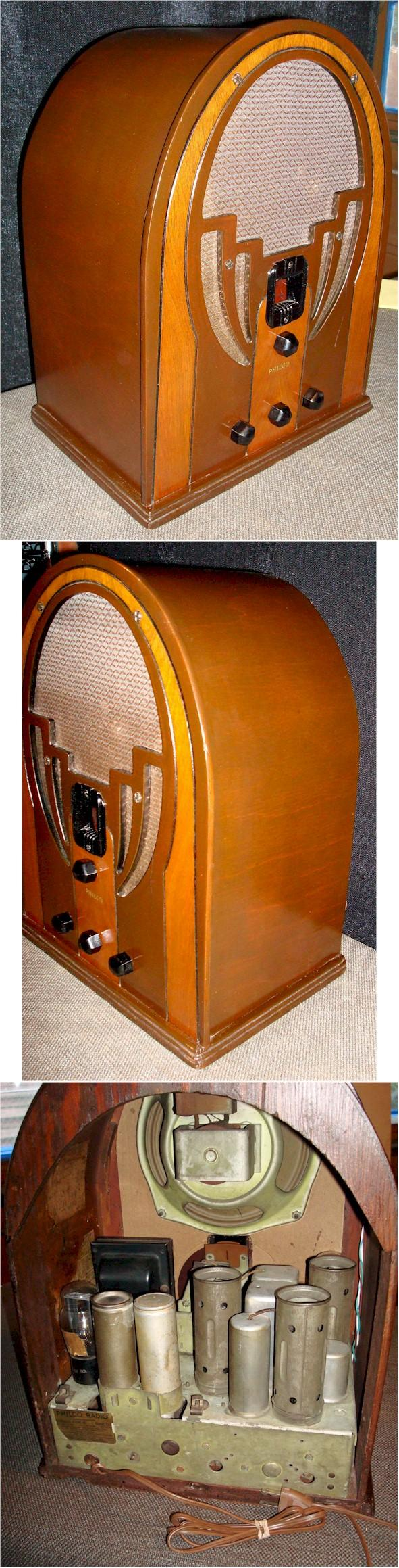 Philco 66 Cathedral (1933)
