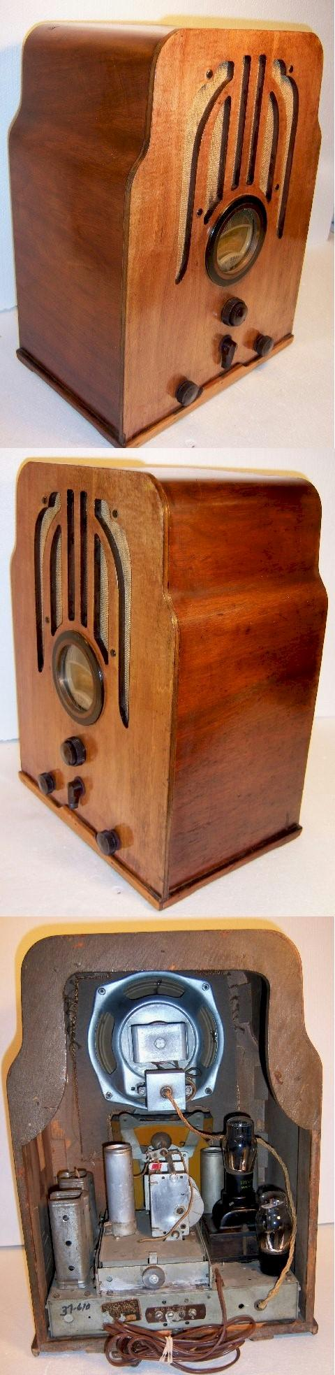 Philco 610 Tombstone (1937)