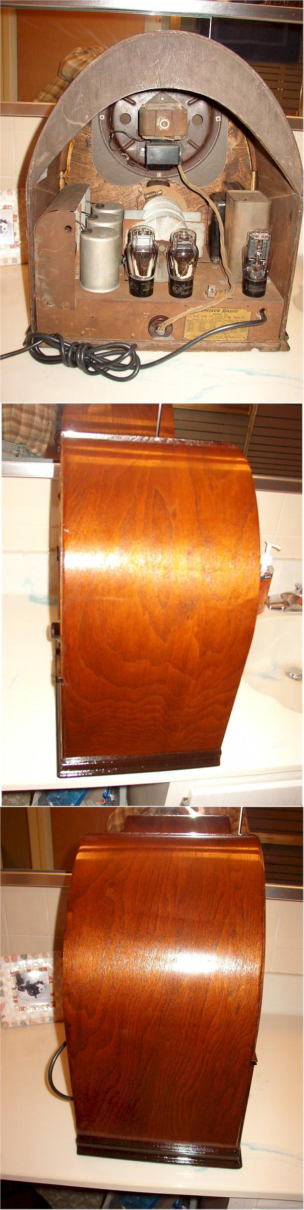 Philco 20 Baby Grand Deluxe Cathedral (1930)