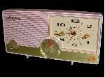 Arvin 5583 Clock Radio (1958)
