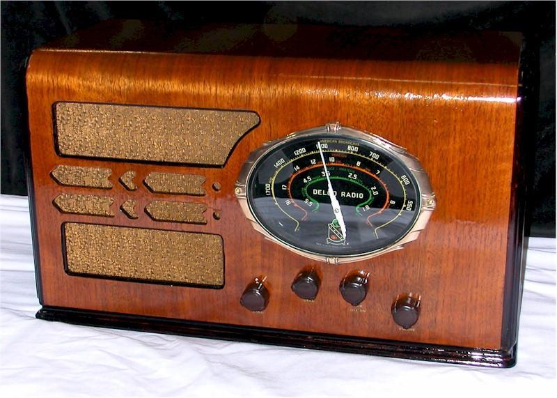 Delco R6011 (modified for AC - 1938)