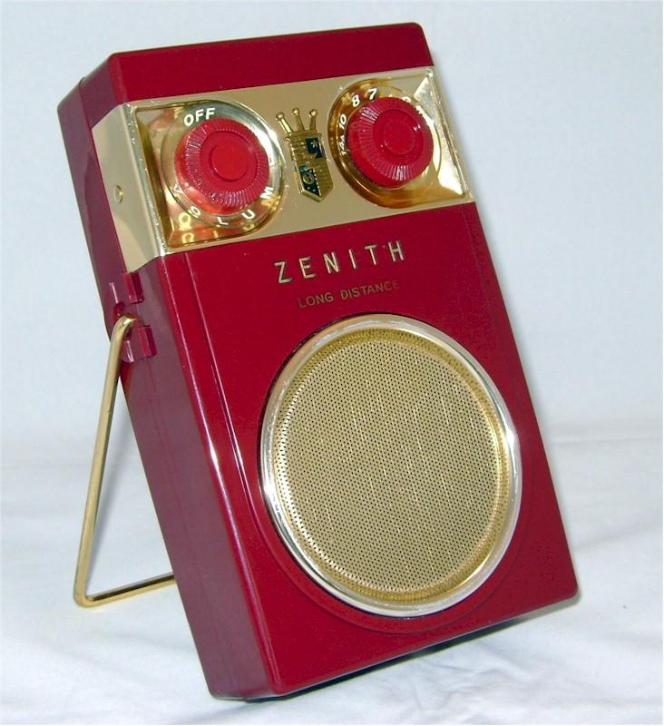 Zenith Royal 500 Model D (1958)