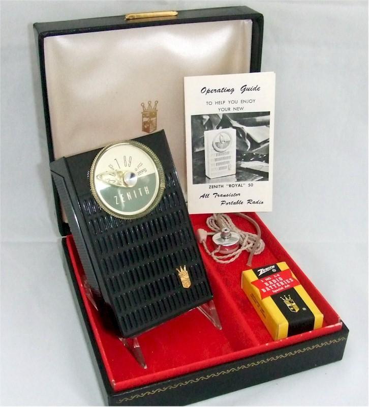 Zenith Royal 50 Complete Set (1960)