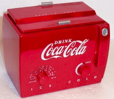 Coca-Cola Cooler Radio MC-194