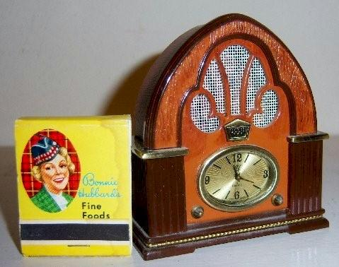 Philco Cathedral Replica Clock/Radio