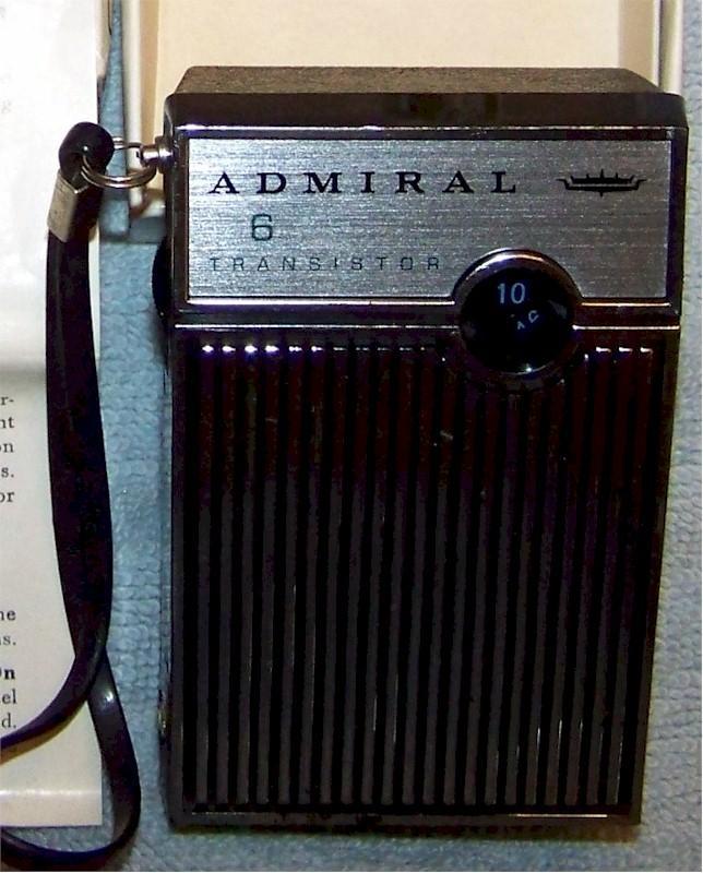 Admiral Y-701R Six Transistor