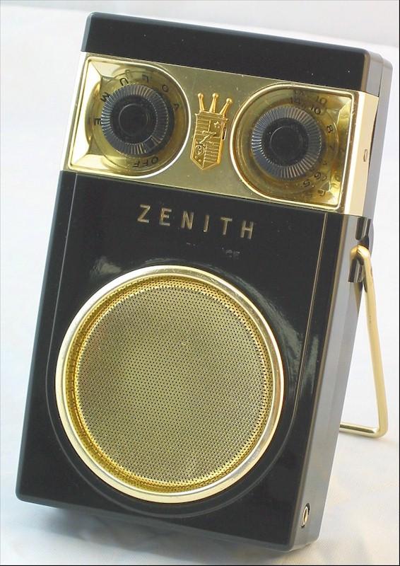 Zenith Royal 500D w/Case (1958)