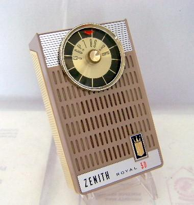 Zenith Royal 50K Set (1962)