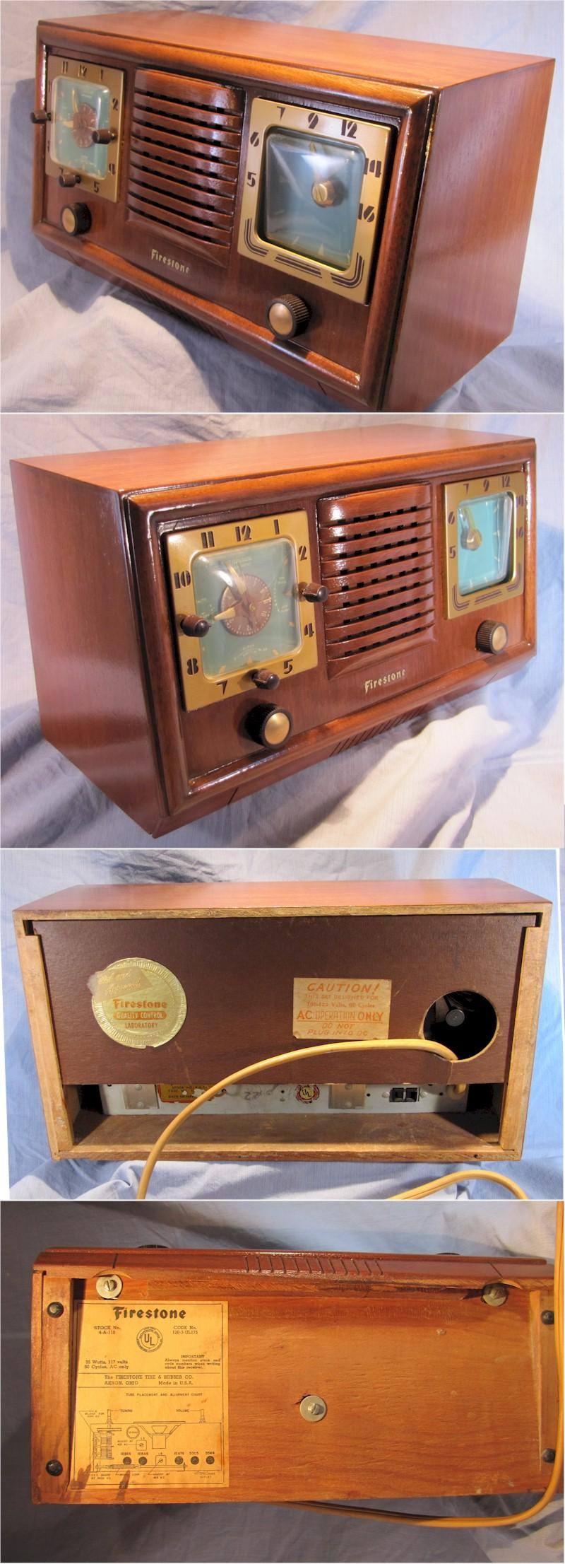 Firestone 5170 Clock Radio