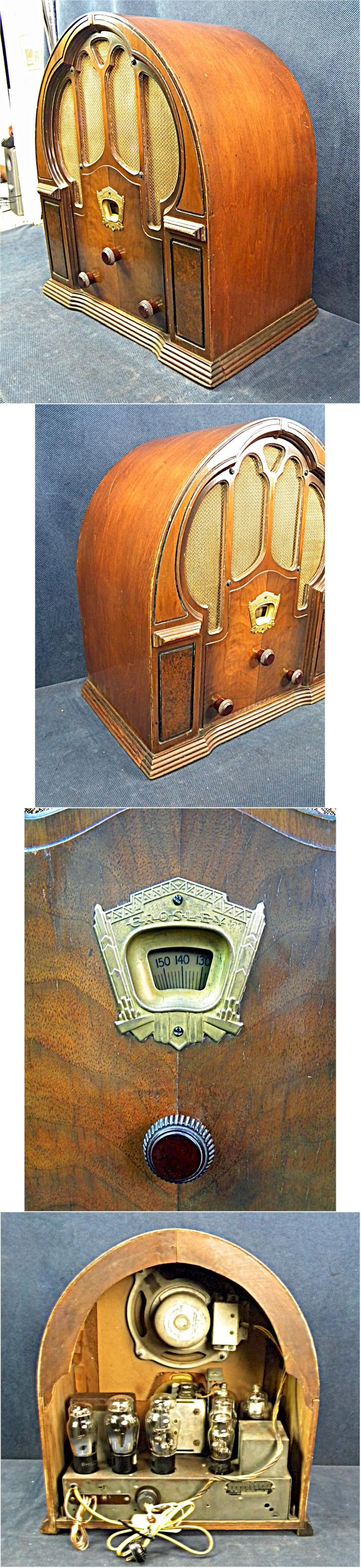 "Crosley ""Dual Eight"" Cathedral 1933)"