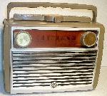 "RCA 7-BX-8J ""Globe Trotter"" Portable (1957)"