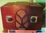 Goodyear Wings Mantel Radio (circa 1934)