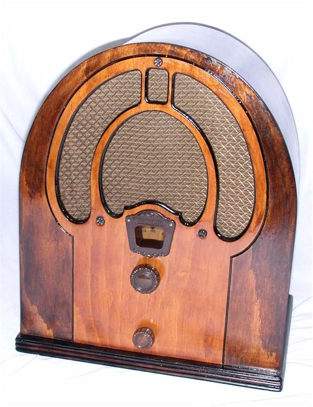 Philco 80B (Jr.) Mini Cathedral (1933)