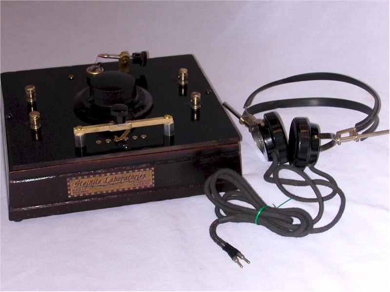 Steinite Crystal Set, with Headset (1926)
