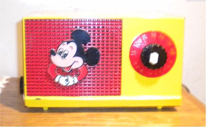 Faux RCA Mickey