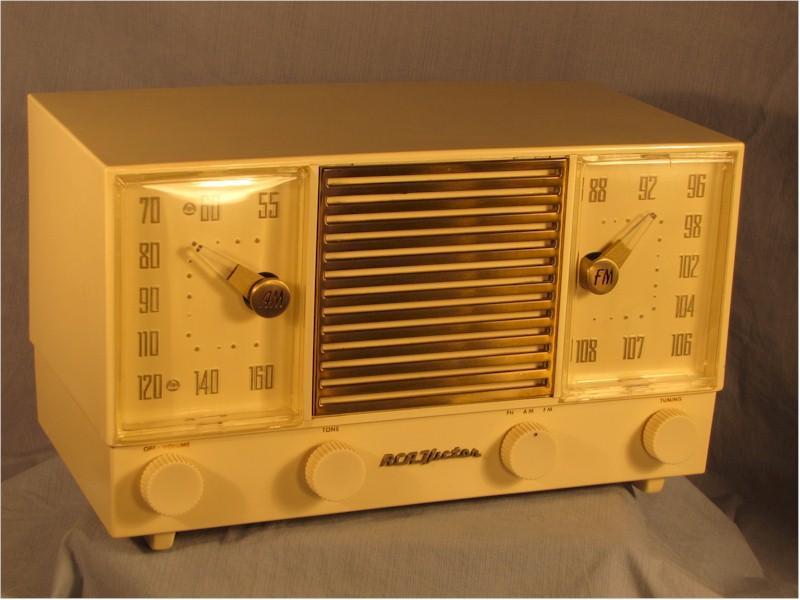 RCA Victor Clock Radio (1960s)