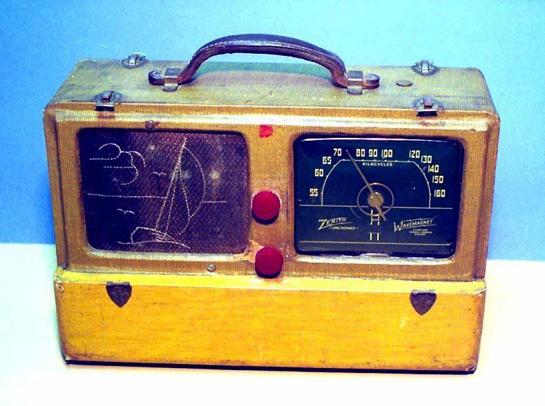 Zenith 6G-601M Portable (1942)