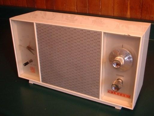 Marconi Clock Radio
