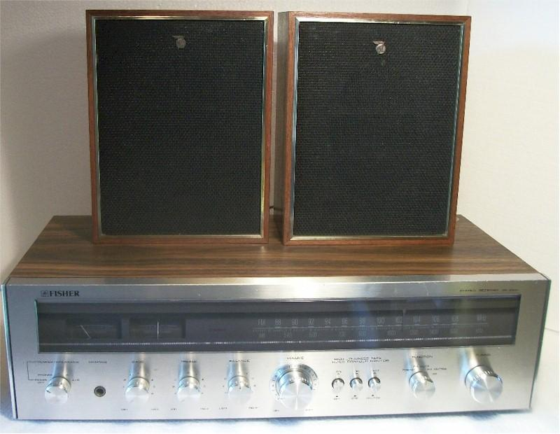 Fisher MC-2500 Stereo Receiver