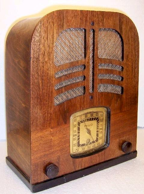 Philco 39-70 Tombstone (1939)