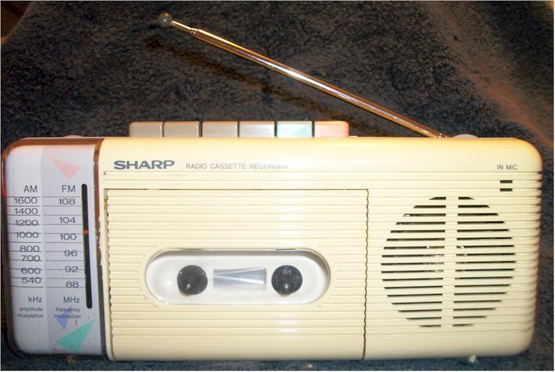 Sharp Portable QT-5W