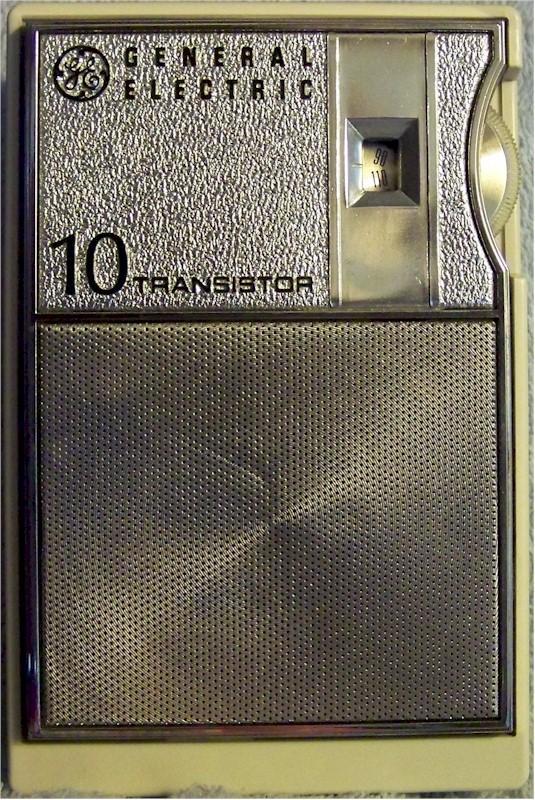 General Electric P1701A Pocket Transistor (1965)