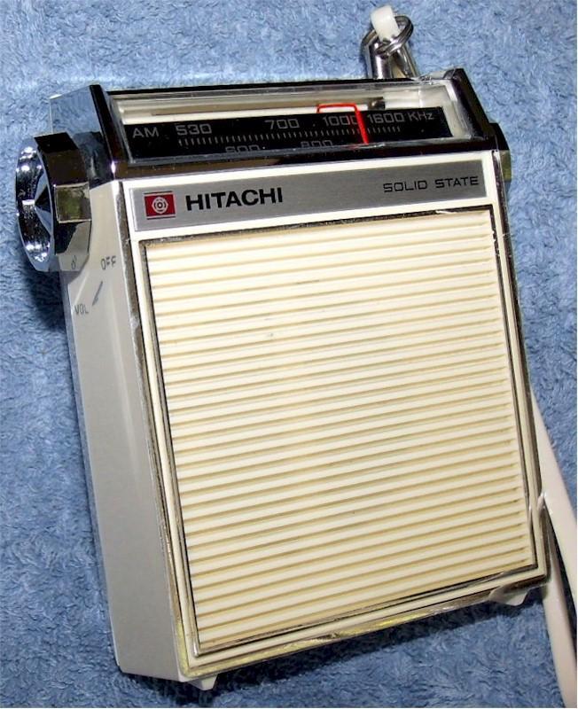 Hitachi TH-831 Pocket Transistor (1968)