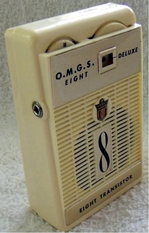 O.M.G.S. Deluxe Pocket Transistor (1960)