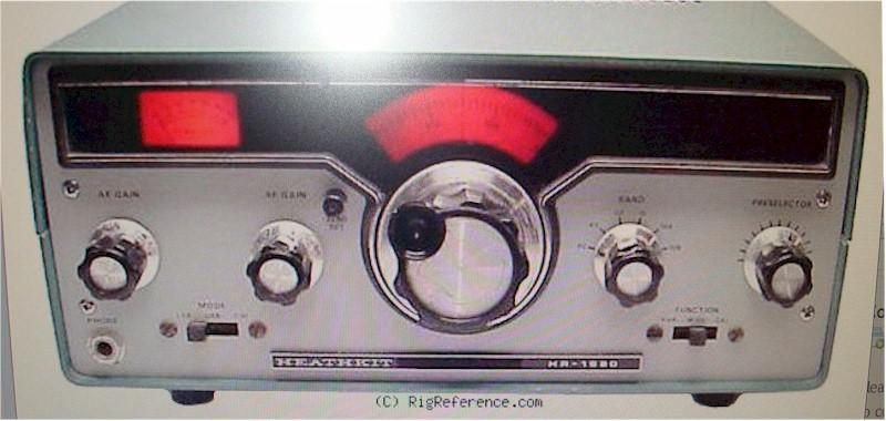 Heathkit HR-1680 Kit Radio (1978)