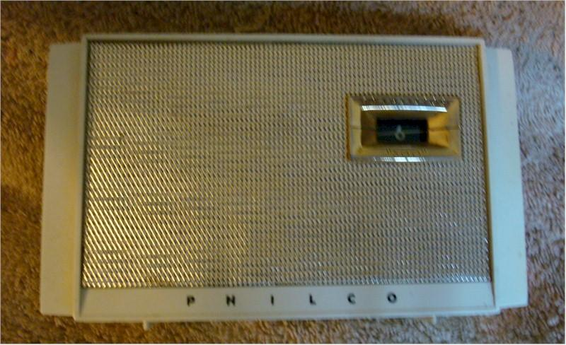 Philco T500-124 Pocket Transistor (1957)