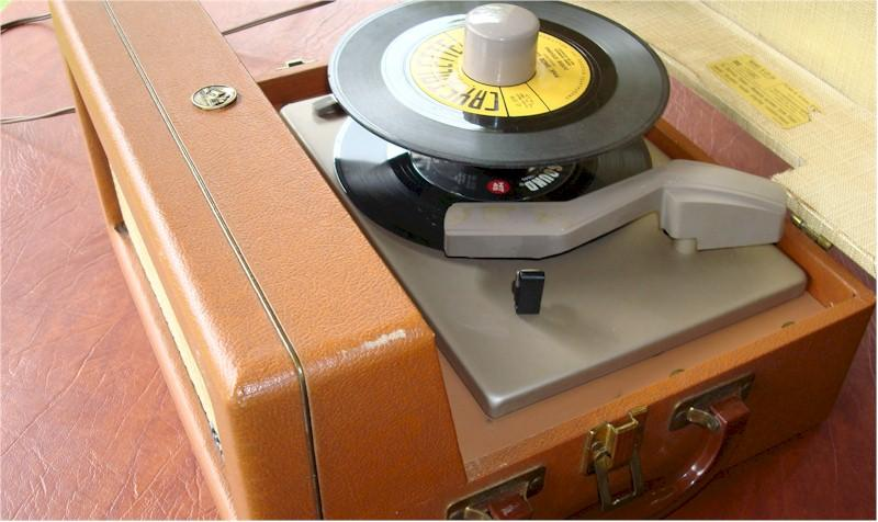 RCA 6EY-3A 45rpm Record Player (1956)
