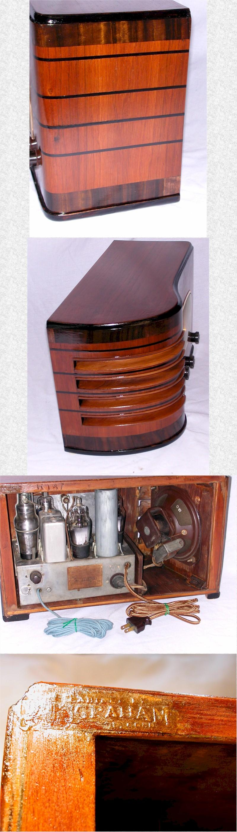 Emerson R167 with Ingraham Cabinet (1938)