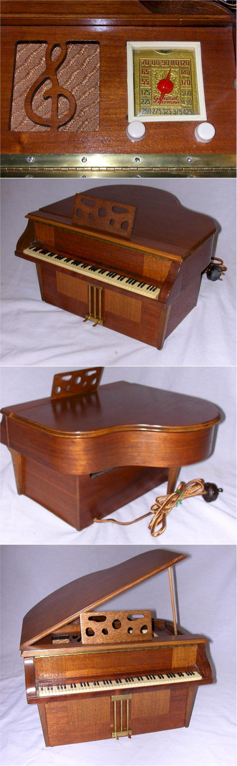 "General Television 534 ""Grand Piano"" Novelty (1939)"