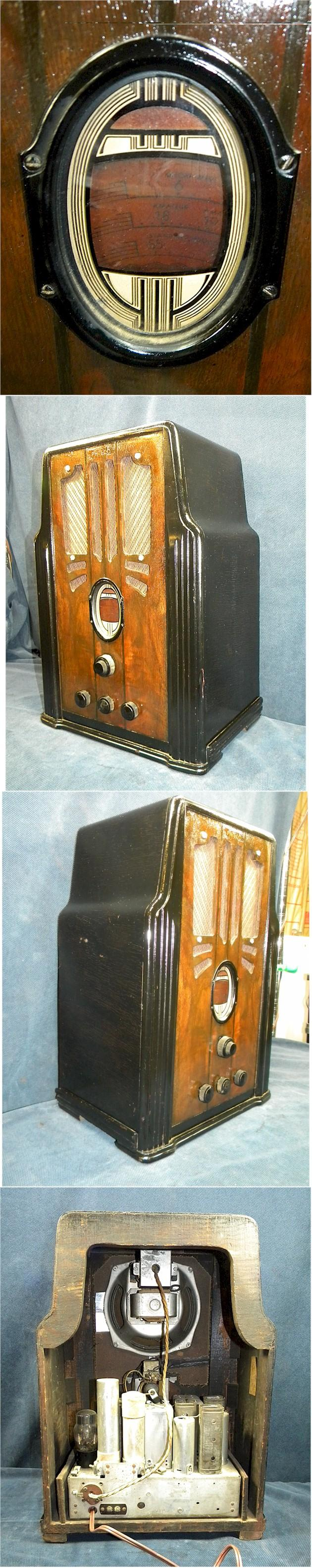 Philco 630 Tombstone (1936)